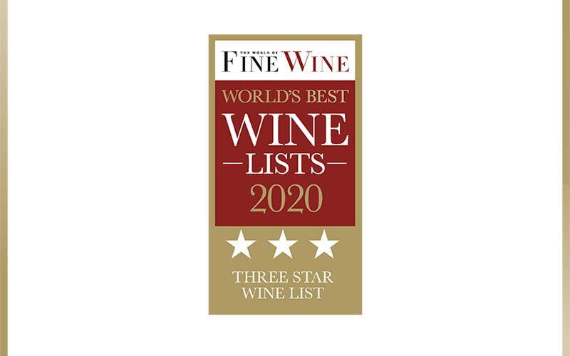 World's Best Wine Lists 2020
